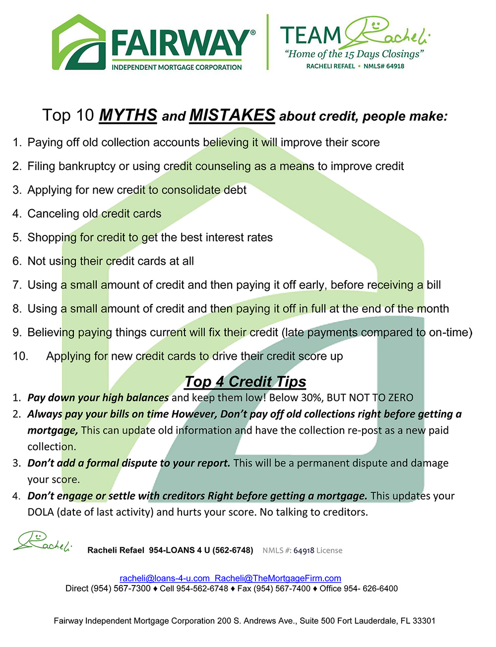 , Credit–What Makes your Credit Score Ebook